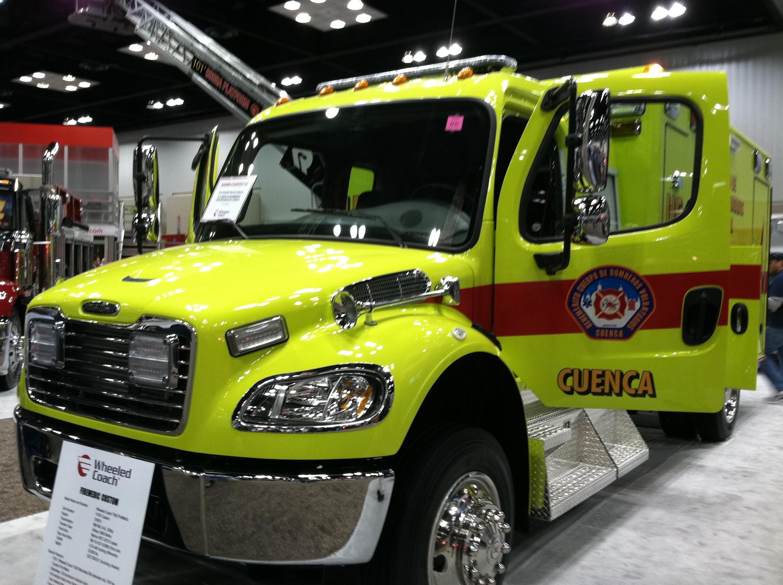 Ecuador Ambulance